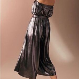 Urban Outfitters Dresses - Urban outfitters metallic jumpsuit